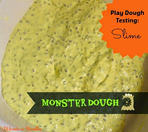 monster slime kids play recipe