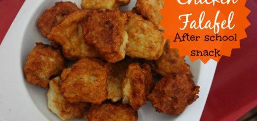 chicken falafel recipe wordsnneedles