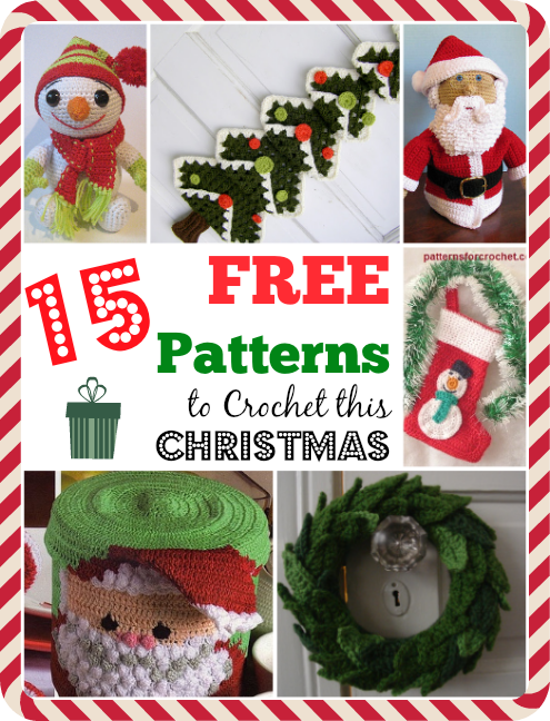Free Crochet Cotton Christmas Patterns : 15 Free Patterns to Crochet This Christmas