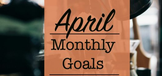 spring cleaning April Monthly Goals Crochet Crafts Parenting Blog Planning