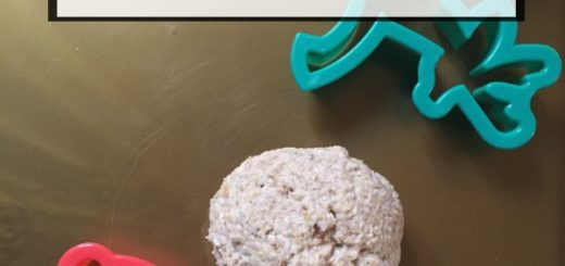 edible breakfast dough recipe safe for toddlers or babies to eat
