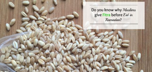 Do you know why Muslims give Fitra in Eid before Ramadan JeddahMOm